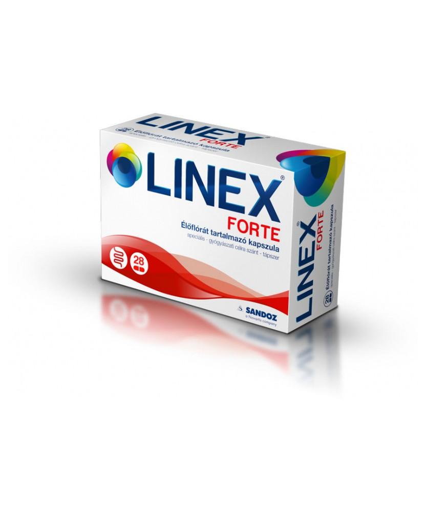 LINEX FORTE ELOFLORA TART.KAPSZ. 28X Sandoz Probiotikumok 2,820.55 Dió patika online gyógyszertár internetes gyógyszerrendelé...