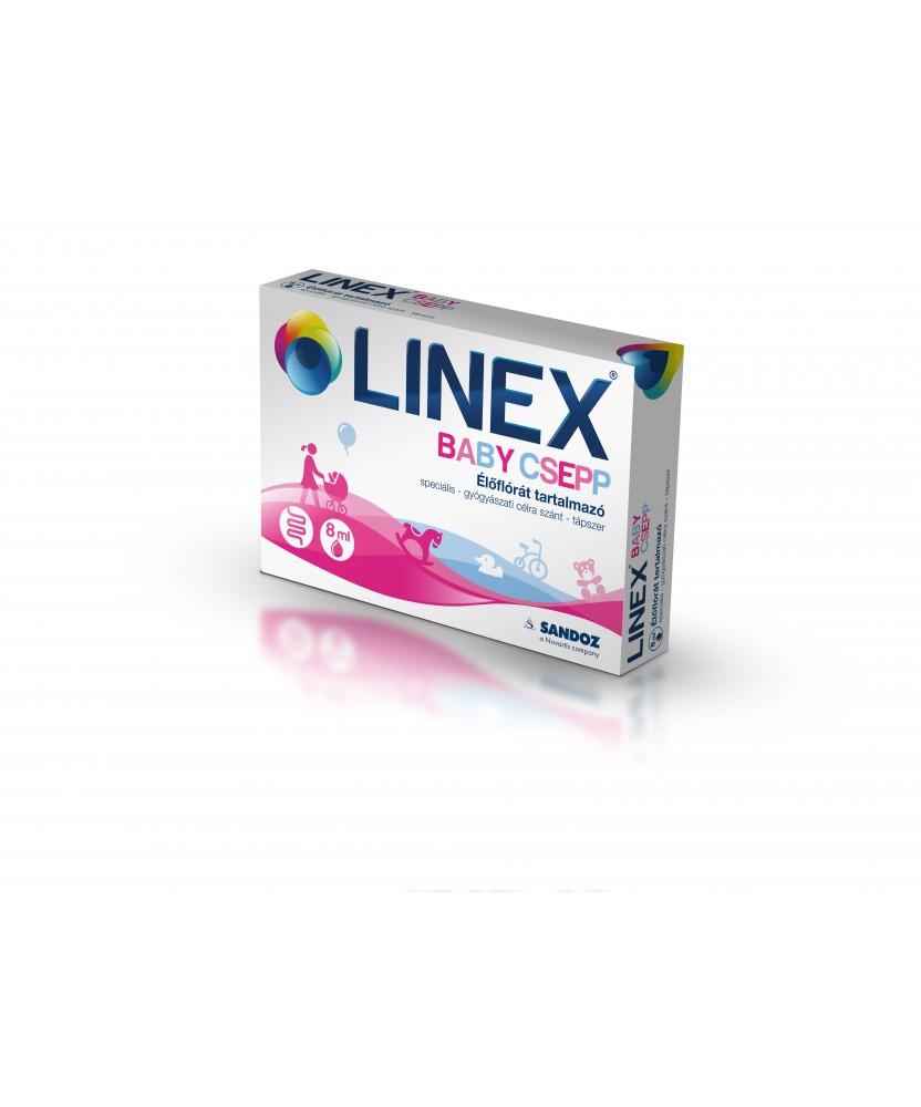 LINEX BABY CSEPP SPEC.TAPSZER 8ML Sandoz Probiotikumok 2,535.55 Dió patika online gyógyszertár internetes gyógyszerrendelés B...