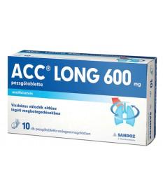 ACC LONG 600MG PEZSGOTABL. 10X Sandoz Köptetők és köhögéscsillapítók 2,051.05 Dió patika online gyógyszertár internetes gyógy...