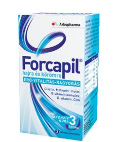 FORCAPIL KAPSZULA 60X  Szépség tabletták 4,189.01 Dió patika online gyógyszertár internetes gyógyszerrendelés Budakeszi