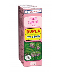 BIOMED FEKETE NADALYTO KREM 2X 60G Biomed Gyógynövény alapú készítmények 1,148.55 Dió patika online gyógyszertár internetes g...