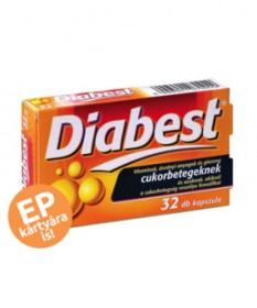 INNOPHARM DIABEST KAPSZULA 32X  Diabétesz 2,041.55 Dió patika online gyógyszertár internetes gyógyszerrendelés Budakeszi