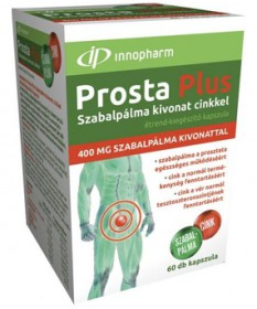 INNOPHARM PROSTAPLUS SZABALP.400MG+ZN KAPSZ. 60X  Férfiaknak 1,747.05 Dió patika online gyógyszertár internetes gyógyszerrend...