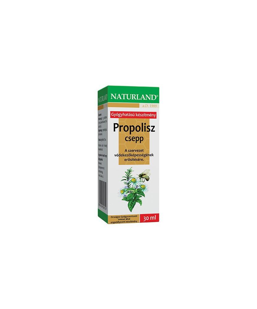 NATURLAND PROPOLISZ CSEPP 1X 30ML Naturland Allergia és nátha 1,419.00 Dió patika online gyógyszertár internetes gyógyszerren...
