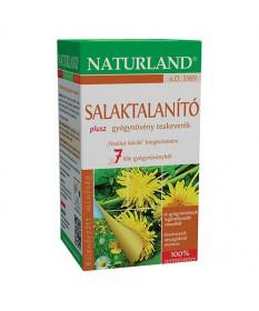 NATURLAND SALAKTALANITO PLUS TEA FILT. 25X1G Naturland Gyógynövény alapú készítmények 1,186.54 Dió patika online gyógyszertár...