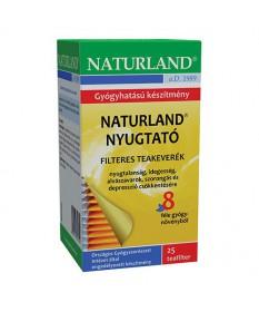 NATURLAND NYUGTATO TEA FILTERES  25X1.5G Naturland Gyógynövény alapú készítmények 1,281.54 Dió patika online gyógyszertár int...