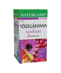 NATURLAND GYUMOLCSTEA TOZEGAFONYA+ECHINACEA 20X2 Naturland Gyógynövény alapú készítmények 759Ft Dió patika online gyógyszert...