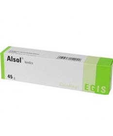 ALSOL KENOCS 45 G  Gyógykenőcsök  1,319.55 Dió patika online gyógyszertár internetes gyógyszerrendelés Budakeszi