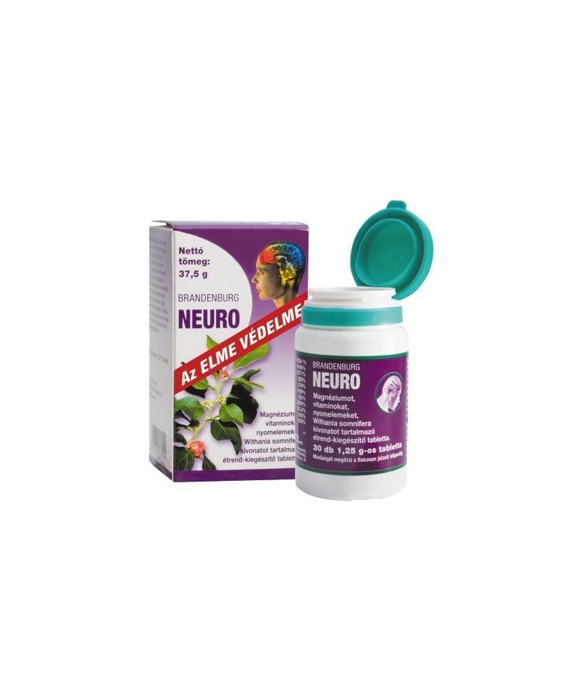 BRANDENBURG NEURO TABLETTA 30X  Altatók/ Nyugatók 4,112.55 Dió patika online gyógyszertár internetes gyógyszerrendelés Budakeszi