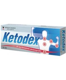 KETODEX 25 MG FILMTABL. 20X  Tabletták 1,929.00 Dió patika online gyógyszertár internetes gyógyszerrendelés Budakeszi