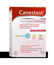 CANESTEST HUVELYFERTOZES TESZT 1X Bayer Tesztek 2,059.00 Dió patika online gyógyszertár internetes gyógyszerrendelés Budakeszi