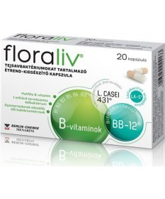 FLORALIV TEJSAVBAKTERIUM KAPSZULA 20X  Probiotikumok 1,859.00 Dió patika online gyógyszertár internetes gyógyszerrendelés Bud...