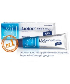 LIOTON 1000NE/G GEL 1X100 G  Szív és Érrendszer 3,276.55 Dió patika online gyógyszertár internetes gyógyszerrendelés Budakeszi