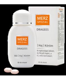 MERZ SPEZIAL DRAGEES SZEPSEGVITAM. 60X  Vitaminok és Nyomelemek  3,749.00 Dió patika online gyógyszertár internetes gyógyszer...