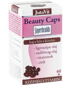 JUTAVIT BEAUTY CAPS 60X JutaVit Vitaminok és Nyomelemek  1,946.56 Dió patika online gyógyszertár internetes gyógyszerrendelés...