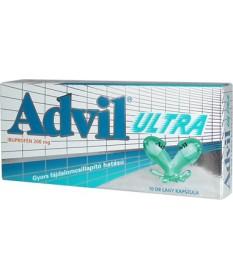ADVIL ULTRA LAGY KAPSZ. 10X Pfizer Tabletták 1,044.05 Dió patika online gyógyszertár internetes gyógyszerrendelés Budakeszi