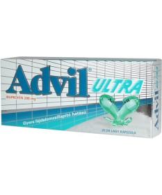 ADVIL ULTRA LAGY KAPSZ. 20X Pfizer Tabletták 1,709.05 Dió patika online gyógyszertár internetes gyógyszerrendelés Budakeszi