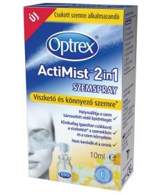 OPTREX ACTIMIST 2IN1 SZEMSPRAY VISZK.KONNY. 10ML  Műkönnyek 4,863.05 Dió patika online gyógyszertár internetes gyógyszerrende...