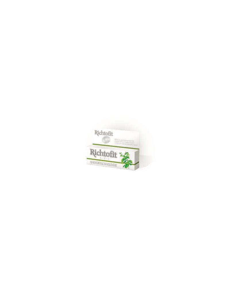 RICHTOFIT GEL HERPESZ KEZELESERE 5 G  Gyógykenőcsök  826Ft Dió patika online gyógyszertár internetes gyógyszerrendelés Budak...