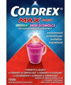 COLDREX MAXGRIP MENTOL+ERDEI POR BELS.OLD.10X GlaxoSmithKline Forró italok 2,098.55 Dió patika online gyógyszertár internetes...