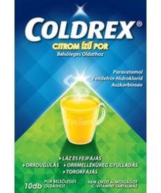 COLDREX CITROM IZU POR BELS.OLDATHOZ 10X GlaxoSmithKline Forró italok 1,927.55 Dió patika online gyógyszertár internetes gyóg...