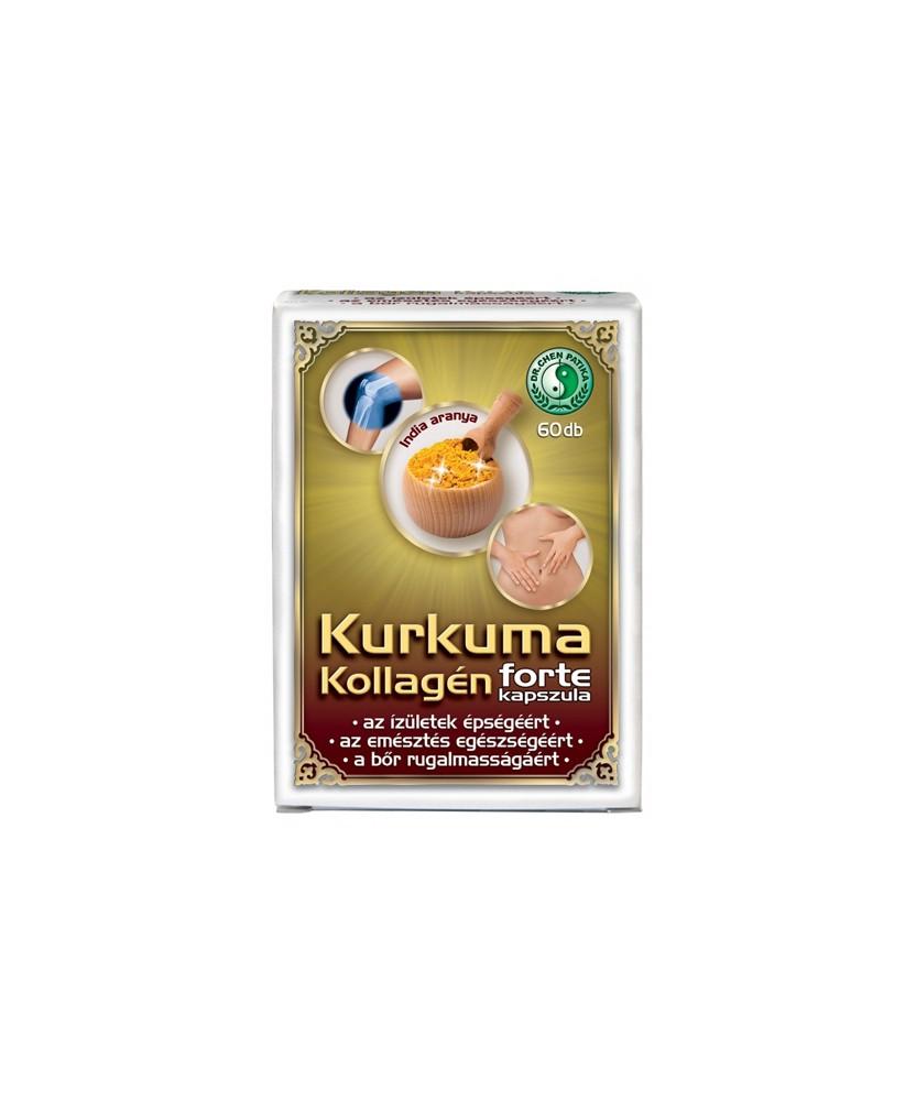 DR CHEN KURKUMA KOLLAGEN FORTE KAPSZ. 60X  Porc- és Csonterősítő 1,889.00 Dió patika online gyógyszertár internetes gyógyszer...