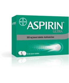 ASPIRIN ULTRA 500MG BEVONT TABL. 20X Bayer Fájdalom és Láz 1,349.00 Dió patika online gyógyszertár internetes gyógyszerrendel...
