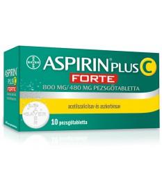 ASPIRIN PLUS C FORTE 800MG/480MG PEZSGOTABL. 10X Bayer Tabletták náthára 1,690.05 Dió patika online gyógyszertár internetes g...