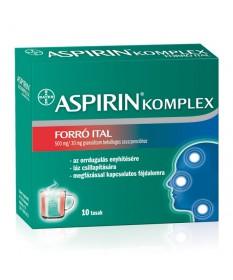 ASPIRIN COMPLEX FORRO ITAL 500MG/30MG GRAN. 10X Bayer Forró italok 1,899.05 Dió patika online gyógyszertár internetes gyógysz...