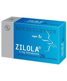 ZILOLA 5MG FILMTABL. 28X  Tabletták allergiára 1,929.00 Dió patika online gyógyszertár internetes gyógyszerrendelés Budakeszi