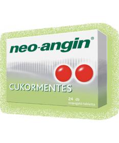 NEO-ANGIN CUKORMENTES SZOPOGATO TABL. 24X  Tabletták náthára 1,424.05 Dió patika online gyógyszertár internetes gyógyszerrend...