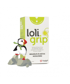 LOLIGRIP 500MG/200MG/25MG POR BELS.OLDAT 8X  Forró italok 1,189.00 Dió patika online gyógyszertár internetes gyógyszerrendelé...