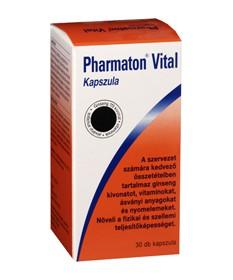 PHARMATON VITAL LAGY KAPSZULA 100X Sanofi Vitaminok és Nyomelemek  7,078.99 Dió patika online gyógyszertár internetes gyógysz...