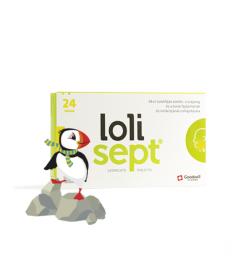 LOLISEPT 3MG CITROM IZU SZOPOGATO TABL. 24X  Tabletták náthára 1,329.00 Dió patika online gyógyszertár internetes gyógyszerre...