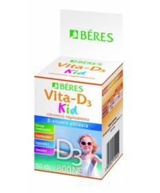BERES VITA-D3 KID 800NE RAGOTABLETTA 50X Béres Vitaminok és Nyomelemek  1,039.00 Dió patika online gyógyszertár internetes gy...