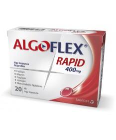 ALGOFLEX RAPID 400MG LAGY KAPSZ. 20X Sanofi Tabletták 1,989.00 Dió patika online gyógyszertár internetes gyógyszerrendelés Bu...