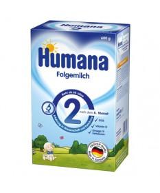 HUMANA 2 TAPSZER 600G (2X300G)  Tápszerek 2,193.55 Dió patika online gyógyszertár internetes gyógyszerrendelés Budakeszi