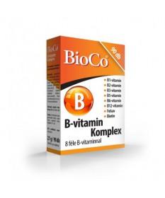 BIOCO B VITAMIN KOMPLEX TABLETTA 90X BioCo Vitaminok és Nyomelemek  1,927.55 Dió patika online gyógyszertár internetes gyógys...