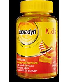 SUPRADYN KIDS OMEGA-3 GUMICUKOR 60X  Vitaminok és Nyomelemek  5,138.56 Dió patika online gyógyszertár internetes gyógyszerren...