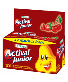 ACTIVAL JUNIOR RAGOTABL. 60X Béres Vitaminok és Nyomelemek  2,450.05 Dió patika online gyógyszertár internetes gyógyszerrende...