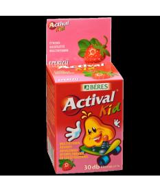 BERES ACTIVAL KID RAGOTBL. EPER  30X Béres Vitaminok és Nyomelemek  1,319.55 Dió patika online gyógyszertár internetes gyógys...