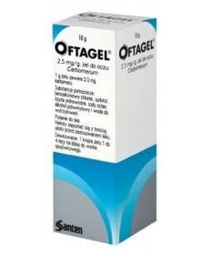 OFTAGEL 2,5MG/G SZEMGEL 1X10 G  Műkönnyek 1,281.55 Dió patika online gyógyszertár internetes gyógyszerrendelés Budakeszi
