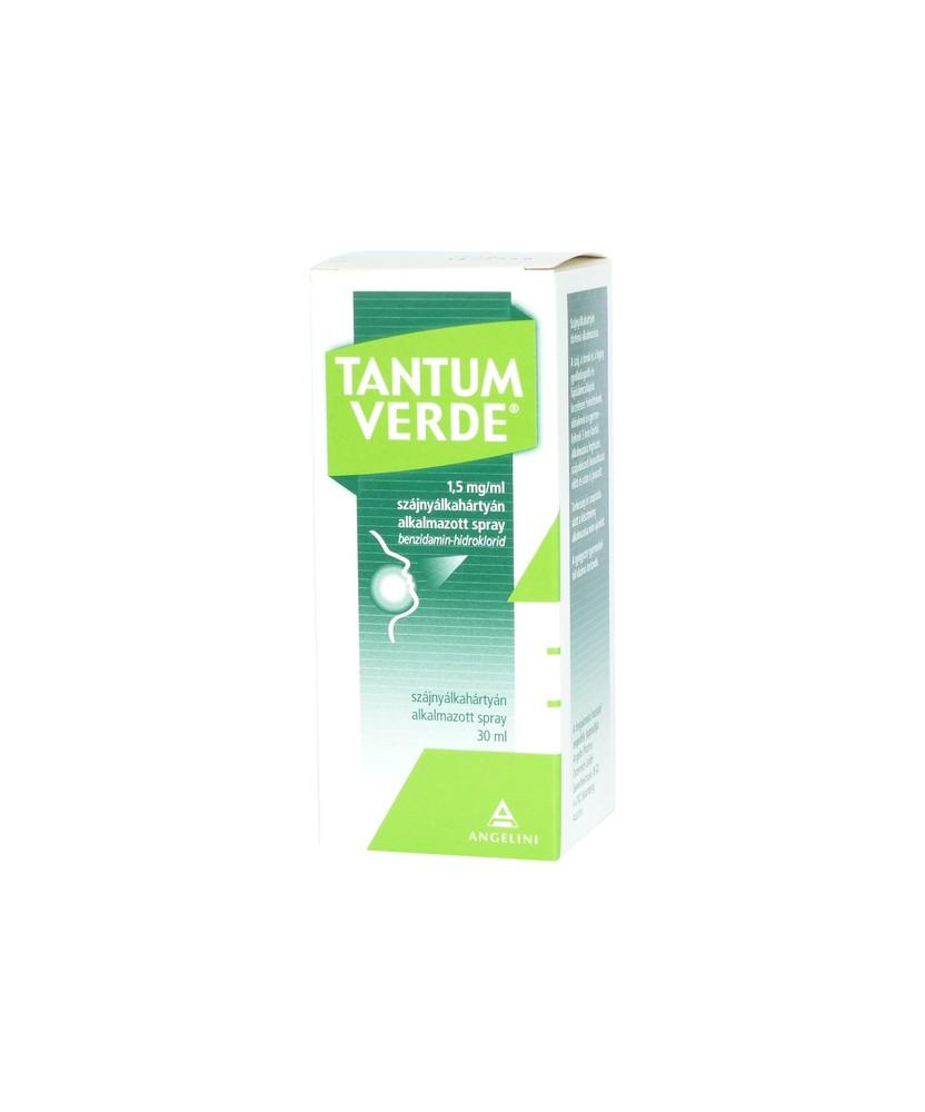TANTUM VERDE 1,5MG/ML SZAJNY.ALK.SPRAY 1X 30ML  Allergia és nátha 1,804.05 Dió patika online gyógyszertár internetes gyógysze...