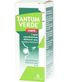 TANTUM VERDE FORTE 3MG/ML SZAJNY.AL.SPRAY 1X15ML  Allergia és nátha 1,994.05 Dió patika online gyógyszertár internetes gyógys...