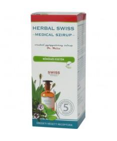 HERBAL SWISS MEDICAL SZIRUP 150ML  Köptetők és köhögéscsillapítók 1,879.00 Dió patika online gyógyszertár internetes gyógysze...