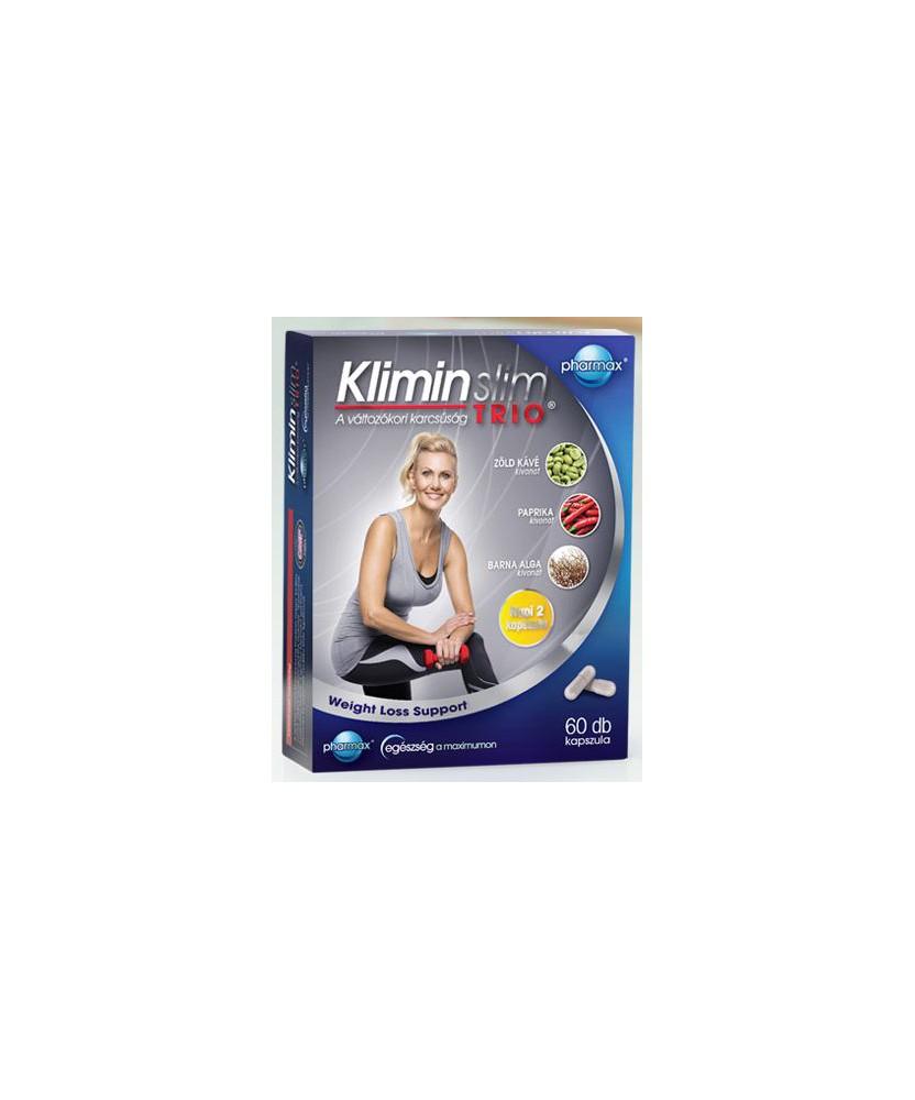 KLIMIN SLIM TRIO KAPSZULA 60X  Fogyókúrát segítő termékek 2,949.00 Dió patika online gyógyszertár internetes gyógyszerrendelé...