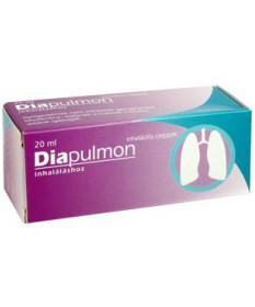 DIAPULMON INHALACIOS CSEPPEK 20ML  Allergia és nátha 2,174.55 Dió patika online gyógyszertár internetes gyógyszerrendelés Bud...