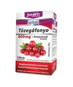JUTAVIT TOZEGAFONYA 800MG+ARANYVESSZO TABL. 100X JutaVit Felfázás 1,889.55 Dió patika online gyógyszertár internetes gyógysze...