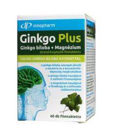 VITAPLUS GINKGO PLUS 120MG+MG FILMTABL. 60X  Gyógynövény alapú készítmények 1,599.00 Dió patika online gyógyszertár internete...