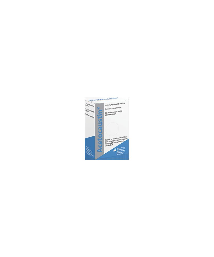ACETOCAUSTIN OLDAT SZEMOLCSIRTO 0,5ML  Szemölcs- és tyúkszem kezelése 3,172.05 Dió patika online gyógyszertár internetes gyóg...